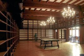 Preocupación por el futuro del mobiliario de la antigua biblioteca de Monti-sion