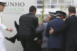 El presidente portugués se desmaya durante un discurso