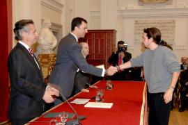 Iglesias sobre el acto con el Príncipe y Blesa: «Me vi obligado a ir»