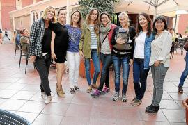 cena del festival Maremostra en Es Cantonet