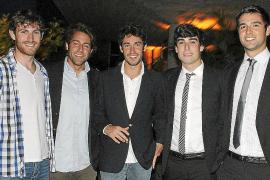 Graduación de alumnos en la Escola d'Hoteleria de les Illes Balears