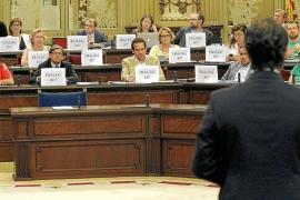 La oposición clama en el Parlament por el diálogo y censura los tres años de Bauzá