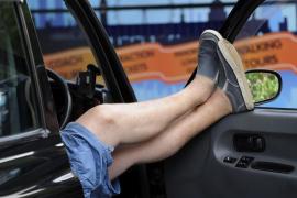Los taxistas europeos protestan contra el intrusismo de los servicios móviles