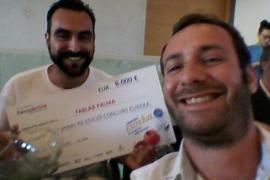 Bruno Fernández y Alvaro Rodríguez ganan el concurso Eureka con PalmaLab