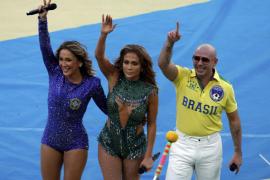La sombra de las protestas desluce la colorida inauguración del Mundial Brasil 2014