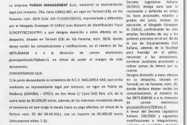 Demandan al Mallorca por el impago de unas comisiones en la cesión de Tissone