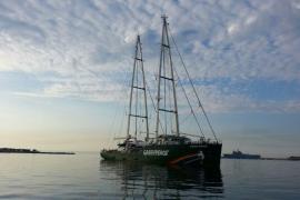 Greenpeace cierra en Palma los actos de acción global contra las prospecciones