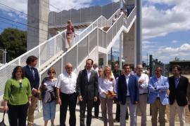 Inaugurada la pasarela de Can Foradí, tras más de 30 años de reivindicaciones
