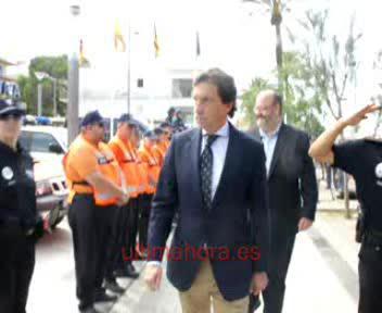 Refuerzo policial en la Platja de Palma