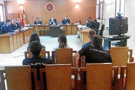 Modelos, fútbol y samba en un juicio por narcotráfico en la Audiencia de Palma