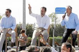 Bauzá interviene en el caos del PP de Eivissa y pide a Marí Bosó que asuma el control