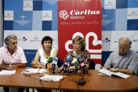 Càritas advierte de que la desigualdad ha alcanzado máximos históricos en Mallorca