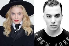 Madonna y Timor Steffens
