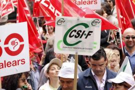 Más de 60.000 funcionarios y empleados públicos de las Islas han sido convocados a la huelga el 8 de junio