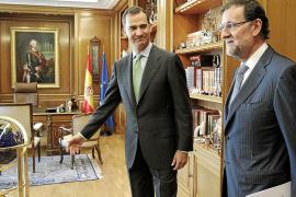 Felipe VI y Artur Mas coincidirán el jueves en un acto en Girona