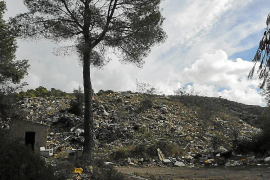 El Govern subvenciona la mitad del coste de desmantelamiento del vertedero de s'Estret