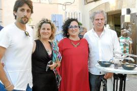 Josep Brú expone su obra en Artà
