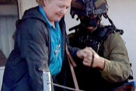 """Los activistas del barco """"Rachel Corrie"""" serán deportados hoy"""