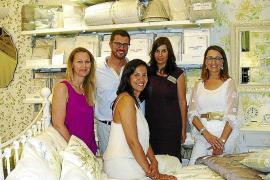 Inauguración de una nueva tienda Laura Ashley en Palma