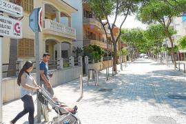 Son Servera planea adaptar ciclocalles en la costa para fomentar el uso de la bicicleta