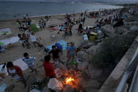 La Nit de Sant Joan deja 6 toneladas de residuos