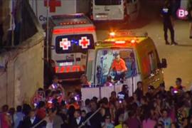 """Un accidente con tres heridos obliga a suspender los """"Jocs des Pla"""""""