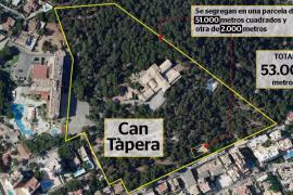 Urbanisme aprueba la segregación de la finca de Can Tàpera en dos parcelas