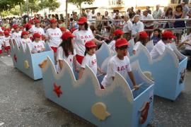 MANACOR, desfile de carrozas Fires i Festes