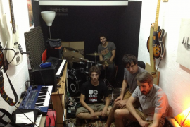 Young Man Afraid presentan EP en el Gallimimus Fest