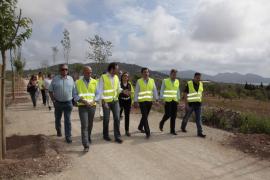 Los alcaldes del Llevant plantean al Govern modificaciones para mejorar la vía verde