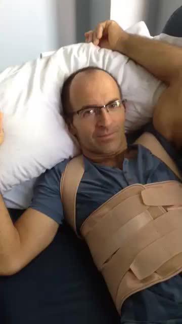 Binimelis agradece en un vídeo el apoyo recibido durante su convalecencia
