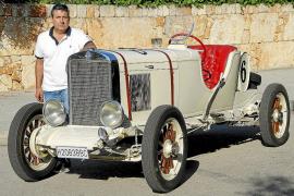 Bartolomé Barceló y su Chevrolet Internacional