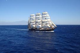 El gran buque escuela 'Sedóv' llegará a Palma