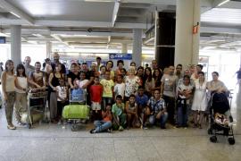 Los niños saharauis llegan a Mallorca