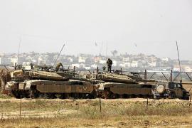 Israel despliega tanques en la frontera con Gaza en plena escalada de tensión