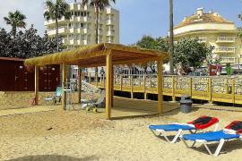La playa de Cala Bona elimina todas sus barreras para ser la más accesible de Mallorca