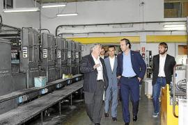 Bauzá agradece el mantenimiento de empleo en las empresas más emblemáticas de Inca