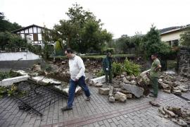 Vecinos desalojados e infraestructuras afectadas en Navarra por las tormentas