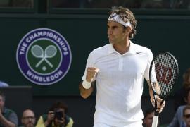 Federer y Djokovic se citan en la final de Wimbledon
