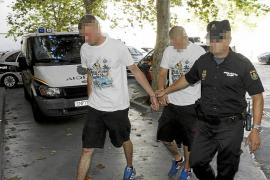 Palma sucesos neonazis detenidos arenal fotos Teresa Ayuga