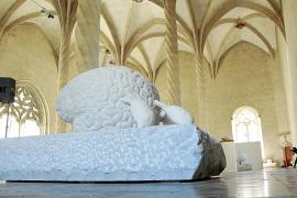 Jan Fabre subraya la fuerza de la mente humana en sa Llonja
