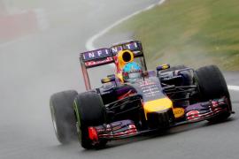 Vettel domina el último entrenamiento libre