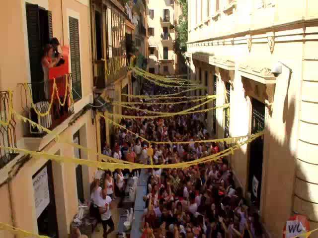 Palma vive San Fermín