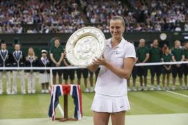 Kvitova conquista su segundo  Wimbledon tras fulminar en la final a Bouchard