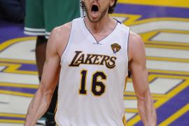 Los Celtics asaltan a los Lakers e igualan las finales