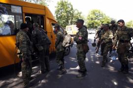 Los rebeldes prorrusos se atrincheran en Donetsk, con un millón de habitantes