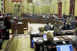 El Parlament se reúne para aprobar leyes del Govern en una sesión sin preguntas
