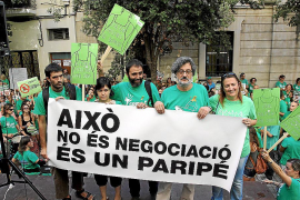 Nace un sindicato para defender los intereses de la Assemblea de Docents