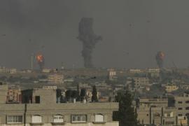 El Ejército israelí bombardea Gaza