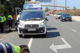 Arrollado un ciclista frente al Parc Bit